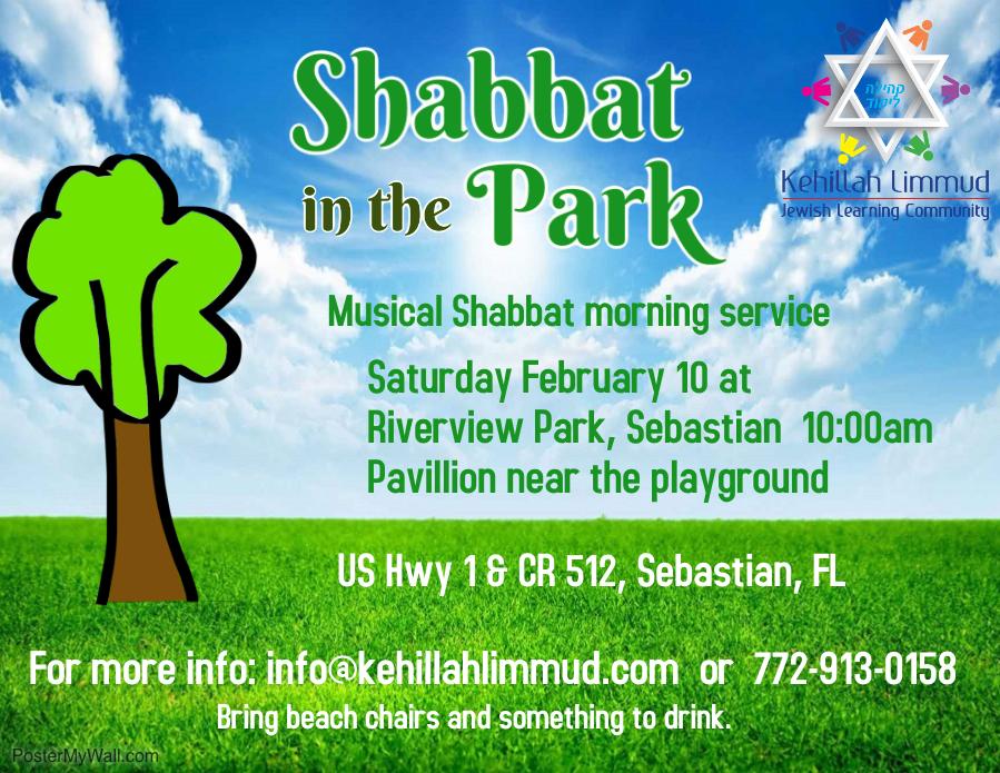 Shabbat At The Park