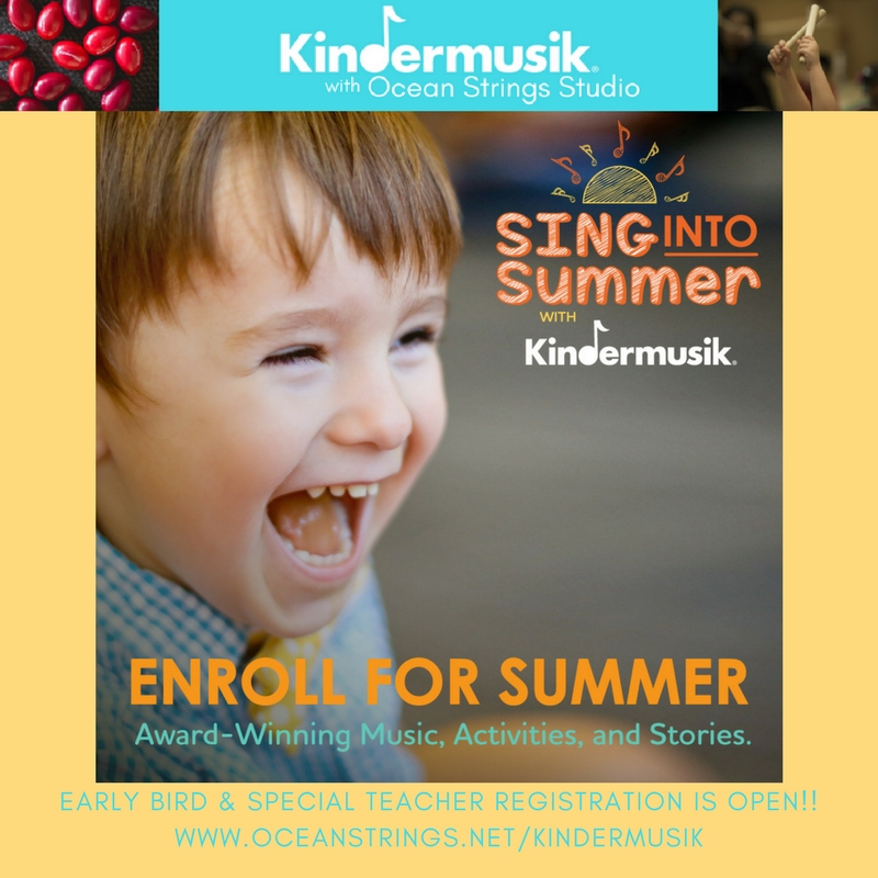 Sing Into Summer! With Kindermusik
