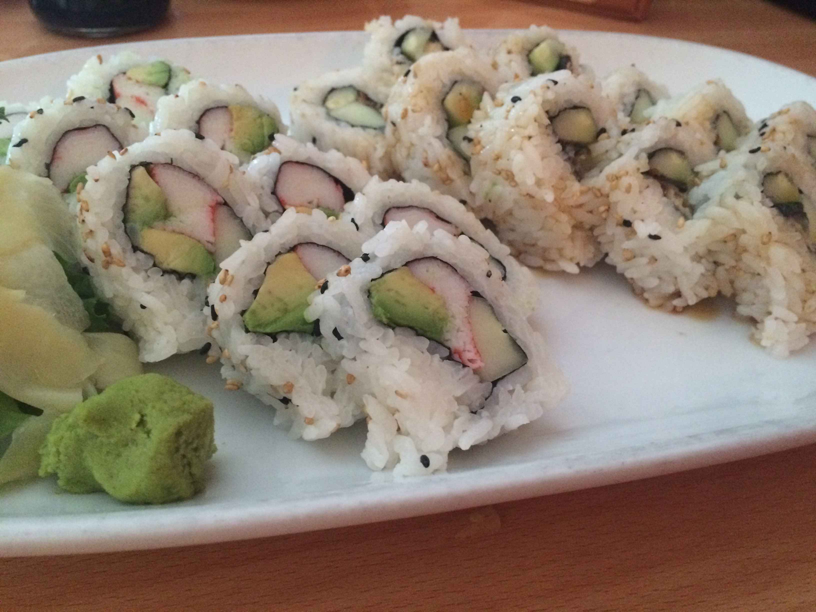 California / Eel Rolls
