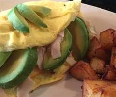 Turkey Club Omelet