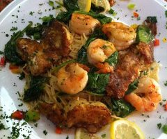 Sauteed Shrimp & Artichoke