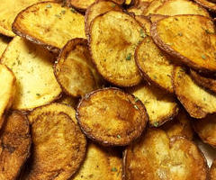 Coconut Oil Fried Chips