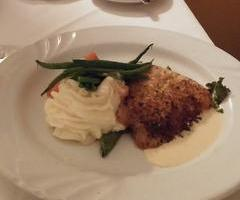 Macadamia Nut Encrusted Snapper