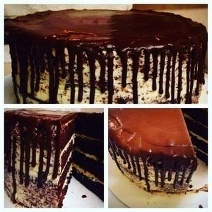 Chocolate Rain Cake