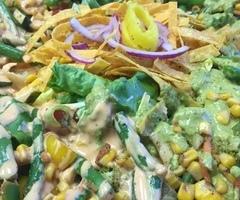 Southwest Chicken Salad Platter